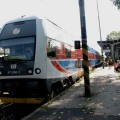 Czeski pociąg nazewnątrz