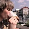 Dobry początek podróży tosmaczna kawusia wczeskim cieszynie