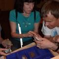 Dotykam skamieniałości (National Museum of Natural History) - Waszyngton