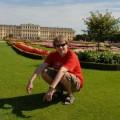 Ja natle rezydencji Schonbrunn