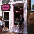 Ja przedróżowym sklepem wFiladelfii