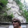 Ja wMorawskim Krasie natle góry skalnej