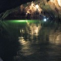 Jeziorko wewnętrzu Jaskini Punkevni