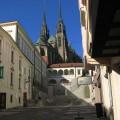 Katedra św.Piotra iPawła wtle