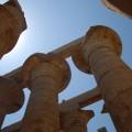 Kolumny wświątyni wKarnaku
