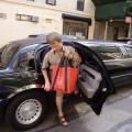 Koniec przejażdżki nowojorską limuzyną