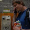Lubię poznawać nowe budki telefoniczne więciwWiedniu dotakiej wszedłem