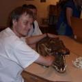 Moja ręka wpaszcy krokodyla (National Museum of Natural History) - Waszyngton