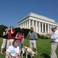 My natle mauzoleum Lincolna - Waszyngton