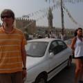 Przed meczetem wKairze