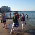 W chicagowskich wodach jeziora Michigan