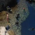 Ekipa nurków przy Azure Window