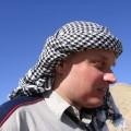 Moja twarz natle pustyni