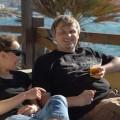 Pierwsze piwo wknajpie naMalcie - nazdj.z Agnieszką