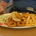 Pyszny obiad naGozo - kalmary ipiwo